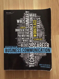 Essentials of Business Communications textbook