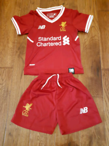 LIVERPOOL FC NB 125TH ANNIVERSARY INFANT KIT SIZE 12-18 months