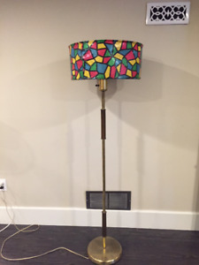 Retro floor lamp