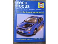 Haynes manual Ford Focus Mk1