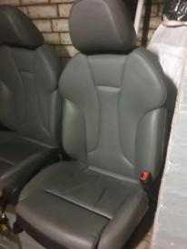 Audi s3 grey leather interior