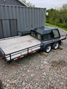16ft A TV trailer