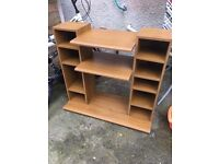 HIFI STORAGE UNIT CABINET ** FREE DELIVERY AVAILABLE MONDAY NIGHT **