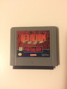 Red Alarm for Virtual Boy