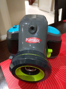 Playskool camera with projector