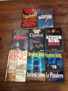 Stephen king collections 8 livres