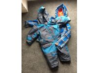 Branded names snowsuit and jacket