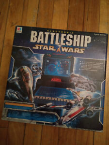 Battleship game star wars collectible collection jeux