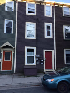 cozy fully furnished 1 bed. plus den with private deck downtown