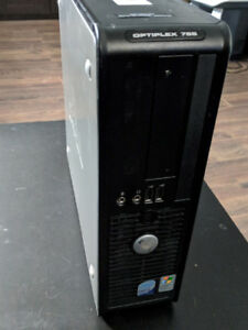 Dell Quad core 2.4GHz / 4GB  / 250GB / WIN 7
