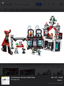 Looking for The Lego Movie President Business's Evil Lair Set