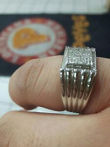 Brand New 10k White Gold and Diamonds Ring