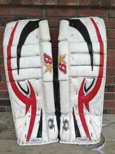 Goalie Equipment - one of two ads
