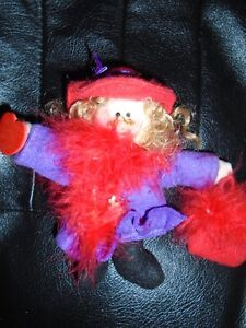 6 Inch Red Hat Lady