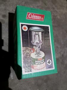Colman  propane lamp