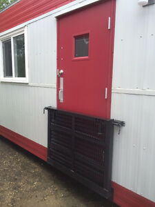 10' x 24' BRAND NEW Skidded Office Trailer For Sale or rent Strathcona County Edmonton Area image 2