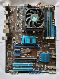 MOTHERBOARD, CPU and RAM