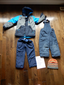 Boy's Size 5 winter outfit lot