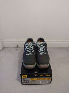 CAT Safety Shoes Steel Toe - Women's US 8.5