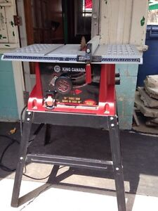 """King Canada 10"""" table saw 60$"""