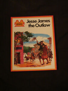JESSE JAMES THE OUTLAW very Rare childrens Hardcover collectible Belleville Belleville Area image 1