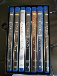 7 seasons of game of thrones on blue ray