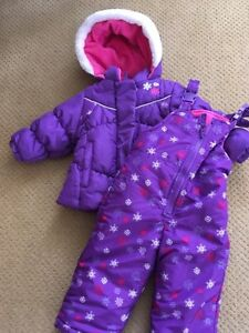 Purple Carters Snow Suit 12 months