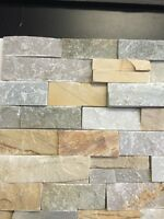 Tile Shoppe Calgary Real Stone for Fireplace @ $3.99/sqft