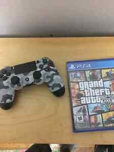 Grand theft auto:5 and controller for $70 or dishonored 2 Kitchener / Waterloo Kitchener Area image 1