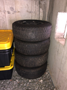 Land Rover Defender or Discovery Wheels and Tires set
