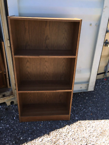 Brown colour bookshelf