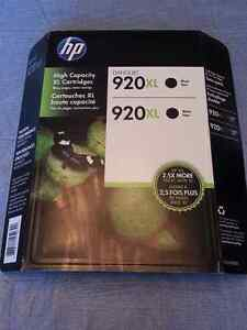 Genuine HP 920XL High Capacity Black Ink Twin Pack BNIB