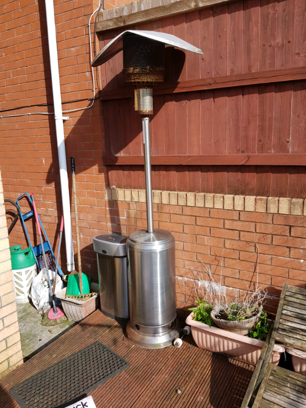 Free Patio Heater With Gas Bottle In Church Village
