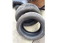 Part worn 205 55 16 tyres