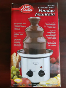 Fondue fountain - new in box