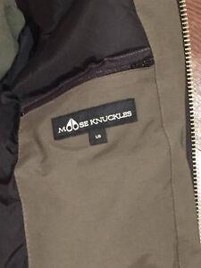 MOOSE KNUCKLES Ballistic Bomber Jacket with Fox Fur Hood West Island Greater Montréal image 4