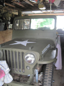 Certification for Jeep Willys