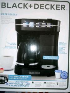 Cafetière double fonction d'infusion Black +Decker