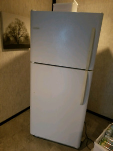 Frigidaire full size white fridge