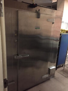 Walk-in cooler stainless steel 6x4  or 6x5