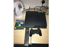 PS3 plus controller and games