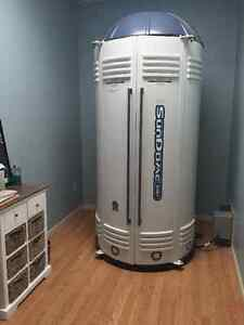 Used stand up tanning booth, tanning bed Sundome 548V
