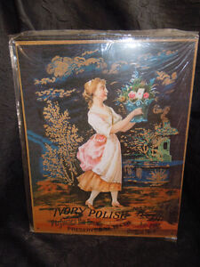 3 Repro Tin Signs - Ivory Hoyt's Ayer's