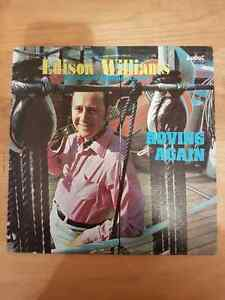 VINTAGE RECORDS. EDISON WILLIAMS.ROVING AGAIN.AUDAT #477-9014 St. John's Newfoundland image 1