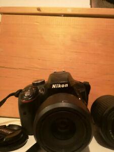 Nikon D3300 DSLR 24.2 + 18-55mm VR II + 35mm 1.8G + 55-200 VR II