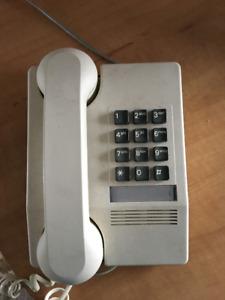 Vintage beige phone