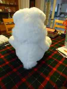 "Large White Bunny with Purple Ribbon - 18"" high Kitchener / Waterloo Kitchener Area image 2"