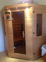 3 person infra red sauna