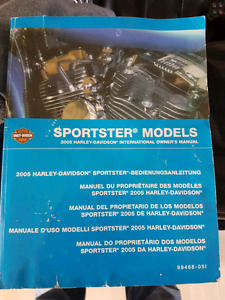 Sportster  owners manual $30