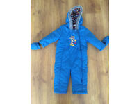 Mickey Mouse BHS snowsuit